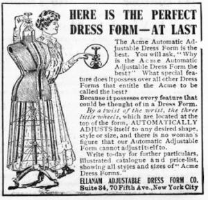 Acme Ellaman Dress Form