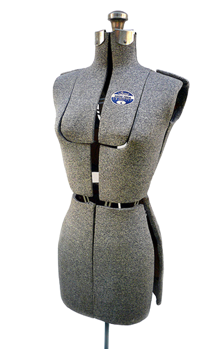 Plus size dress form adjustable